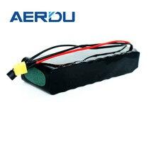 Aerdu 36v 7ah 450watt 10s2p 18650 li-ion mallest bateria externa bloco ebike monociclo scooter elétrico ciclomotor