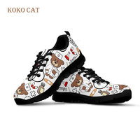 Custom Spring Autumn Mesh Sneakers Women Heart Nurse Flats Running Shoes Printing for Work Comfortable Big Girl Black Zapatillas