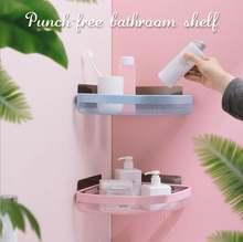 Угловая полка для ванной комнаты без перфорации популярный угловой