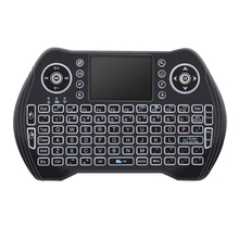 Backlit 2.4Ghz Wireless Keyboard Touchpad Mouse Handheld Remote Control 3 Colors Backlight For Android Tv Box Smart Tv Pc Notebo vontar 2 4ghz h1 plus wireless air mouse mini keyboard remote control standard or backlit full touchpad for pc android tv box