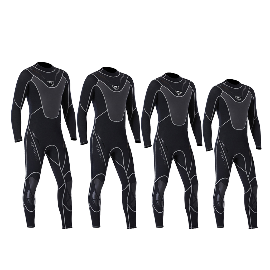Combinaison de plongée Hommes 3mm combinaison de Surf, Flexible Haute Performance Ultra maillots de bain stretch 4 Tailles En Option