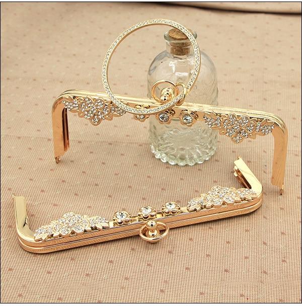 12.5cm Purse Frame China  Alibaba Wholeslae Silver Antique Brass Metal Bag Frame Wholesale Bag Accessories Handle