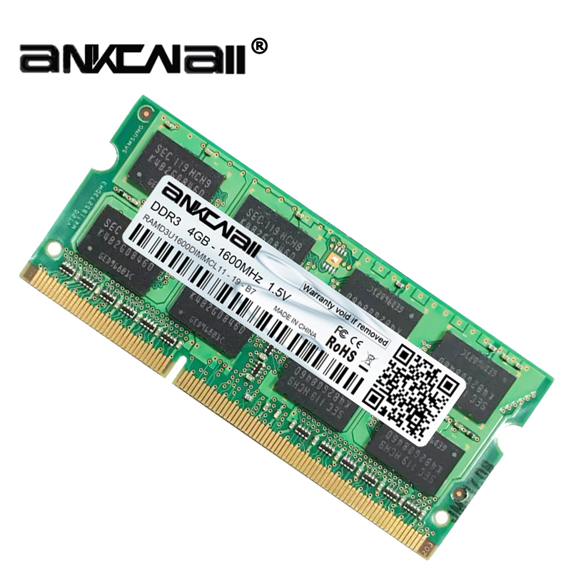 New DDR3L 4GB /8G Laptop RAM Memory For Intel System High Compatible 7