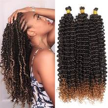 18 Inch Passion Twist Hair Water Wave Crochet Braids Hair Passion Twist Crochet Hair Pre Looped Bohemian Hair Extensions Braids(China)
