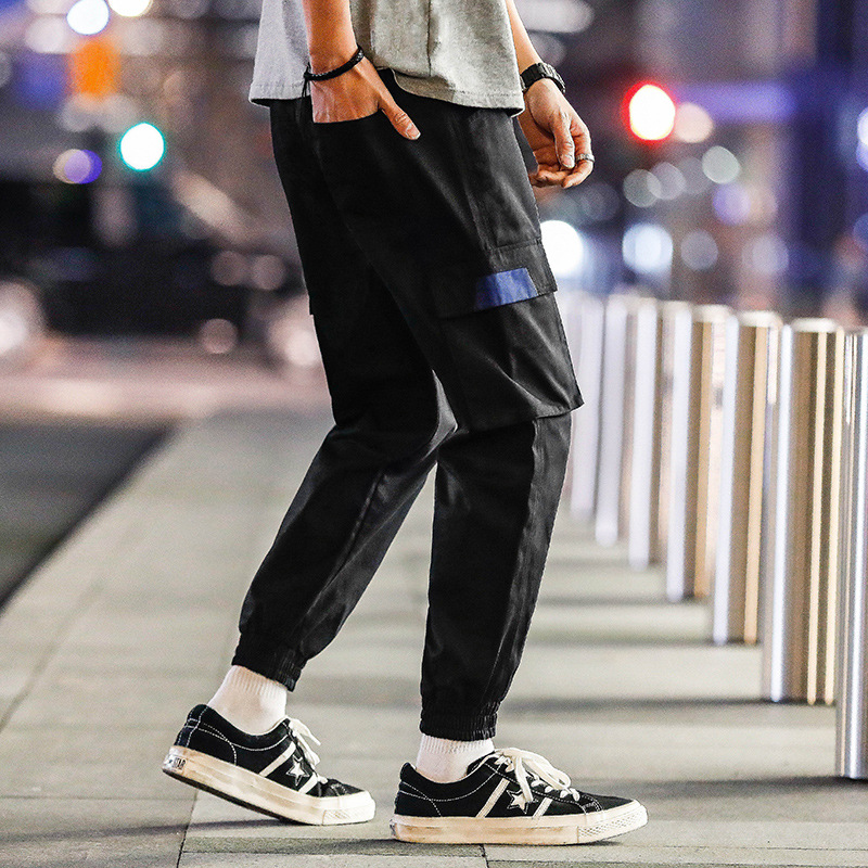 2019 Spring And Autumn New Products MEN'S Casual Pants Outdoor Casual Bib Overall Popular Brand Military Capri Pants
