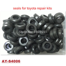 Rubber-Seals Fuel Injector Mazda Mitsubishi Toyota 1000pieces for Lower 16--8.8--5.5mm