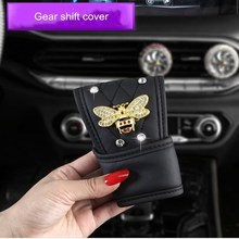 Handbrake-Cover Gear-Shift-Cover Shoulder-Pads Car-Seat-Belt Interior Cute Diamond Female