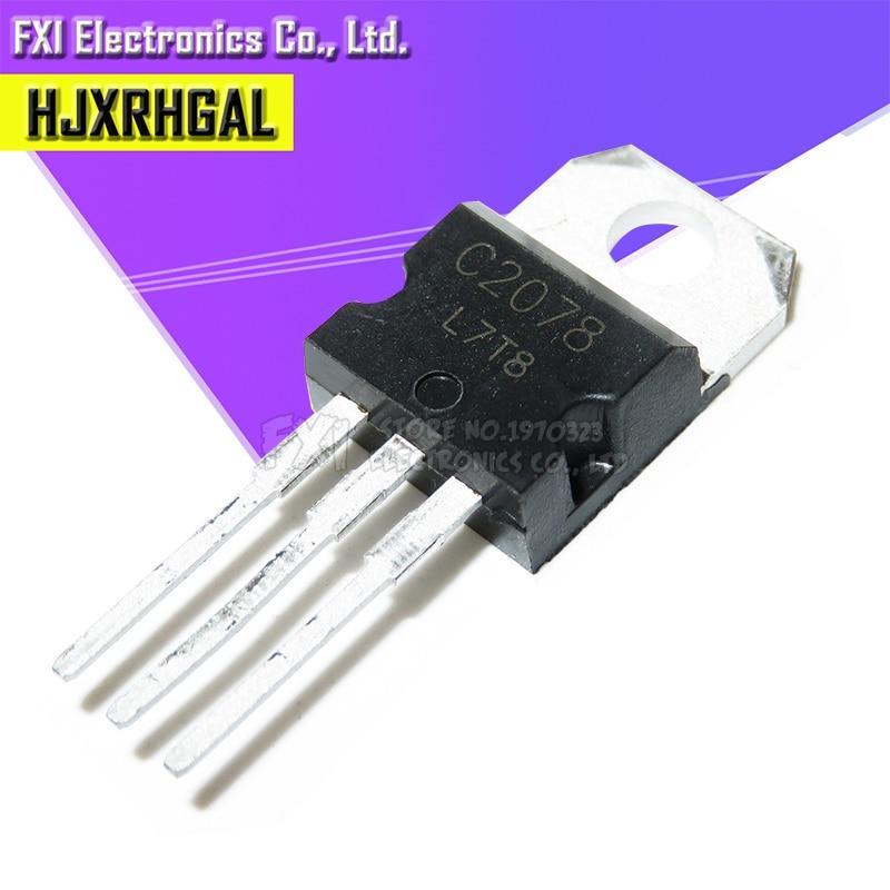 40pcs/lot C2078 2SC2078 150M Line Frequency Transistor TO-220 Original Authentic