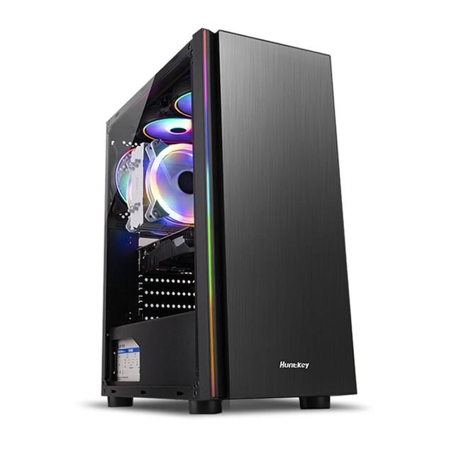 HUANANZHI Z2 Gaming E5 Desktop Computer cpu 2689 DDR3 2*16G Gaming Card GTX 1050TI 4G SSD 480G High cost performance Gaming PC 4