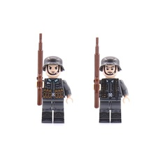 Soldiers Weapons Original Block Toy Swat Police Military City Accessories Compatible Mini Figures