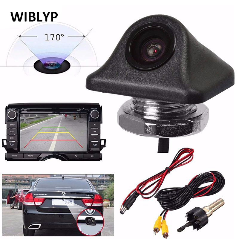 Reverse Camera HD 170 Degrees Wide Angle Night Vision CCD Car Parking Front Side Rear View Backup Camera Waterproof Universal