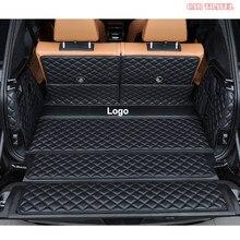 Carro de viagem personalizado couro esteiras tronco do carro para bmw x7 2019 2020 2021 anos auto acessórios do carro forro carga