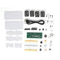 Цифровой DIY Набор для электронных часов C51 SCM процесс управления светом большой светодиодный компоненты экрана Комплект часов
