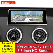 Android 9.0 8 Core 4GB 64GB For Audi A3 8V 2014~2018 MMI 2G 3G RMC Android Car Multimedia Player Stereo Radio GPS Navigation