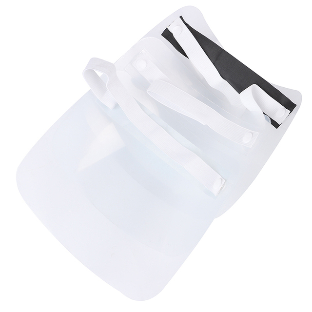 Safety Clear Grinding Face Shield Screen Mask Visor Eye Protection Anti-fog Protective Prevent Saliva Splash Mask 5
