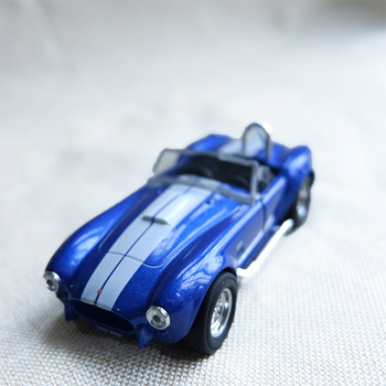 1/32 Scale Alloy Classic Diecast Car Toy Shelby Cobra 427 Metal Toy Miniature Vehicles Static Model For Collection Kids Gift
