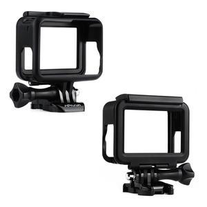Image 2 - SOONSUN Standard Frame Mount Protective Housing Case for GoPro Hero 5 6 7 Black for Go Pro HERO7 White Silver Action Camera