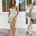 Сексуальное платье, бодикон, с рисунком, длинный юбка темперамент тай-дай чулок женские повседневные платья