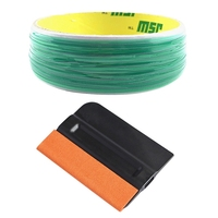 50M Finish Car Design Line+Squeegee For Vinyl Wrapping Cutting Trim