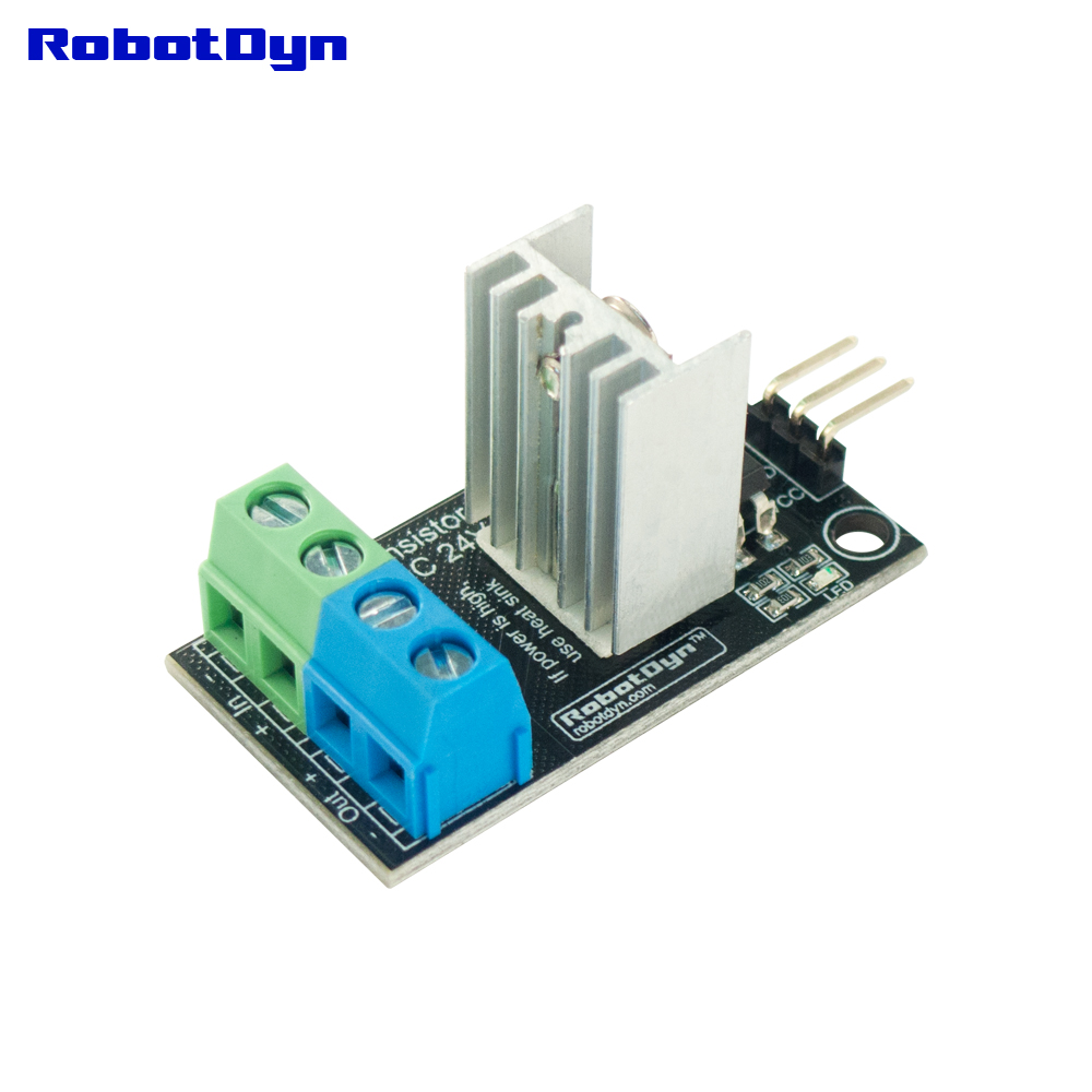 Four Channel 4 Route MOSFET Button IRF540 Switch Controller Module DC Arduino Pi