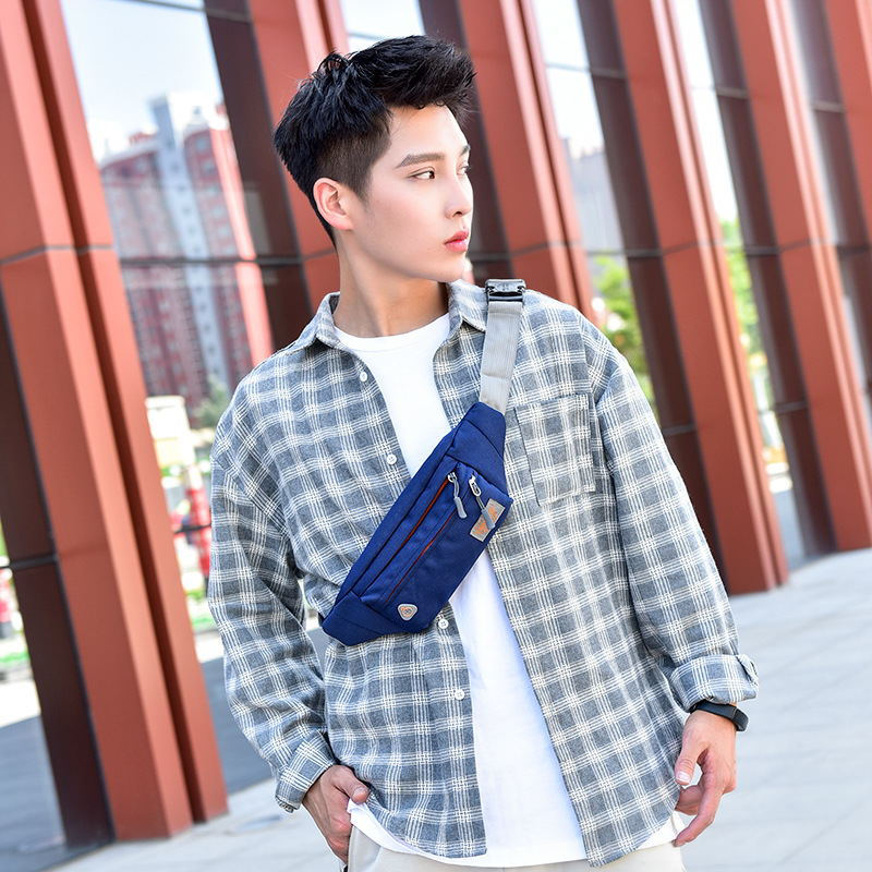 Victory Star Wallet Fashion Korean-style Shoulder Oxford Waterproof Chest Pack Gift