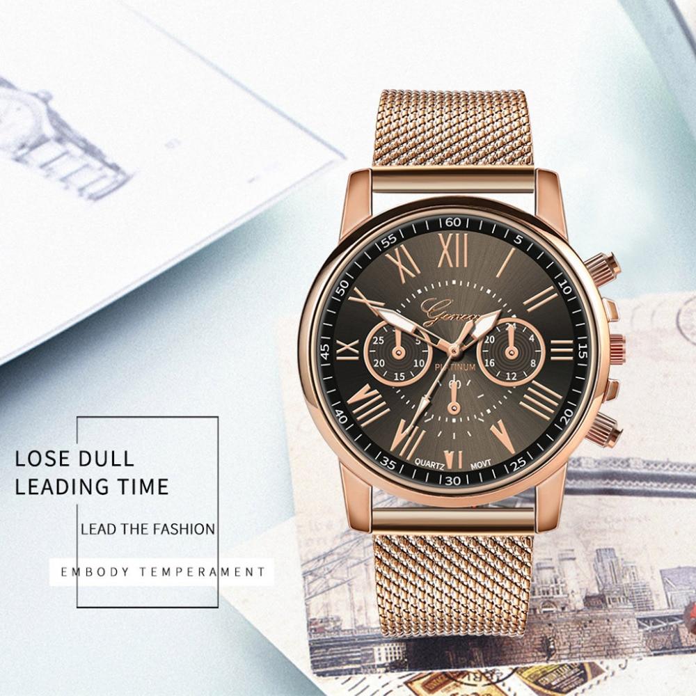 Женские часы GENEVA, повседневные кварцевые часы с силиконовым ремешком, Лидирующий бренд, женские наручные часы с браслетом, женские часы - 2