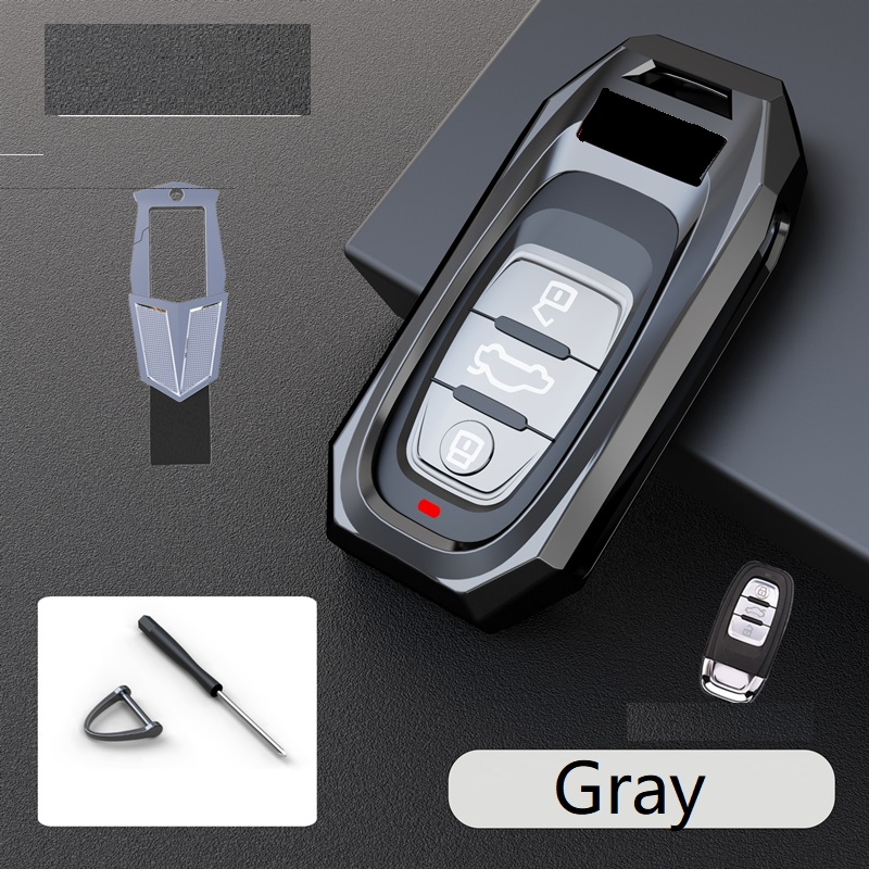 Fashion Remote Smart Key Cover Case Shell for Audi A4L A5 A6L A7 A8L S5 S6 Q5 SQ5 RS5