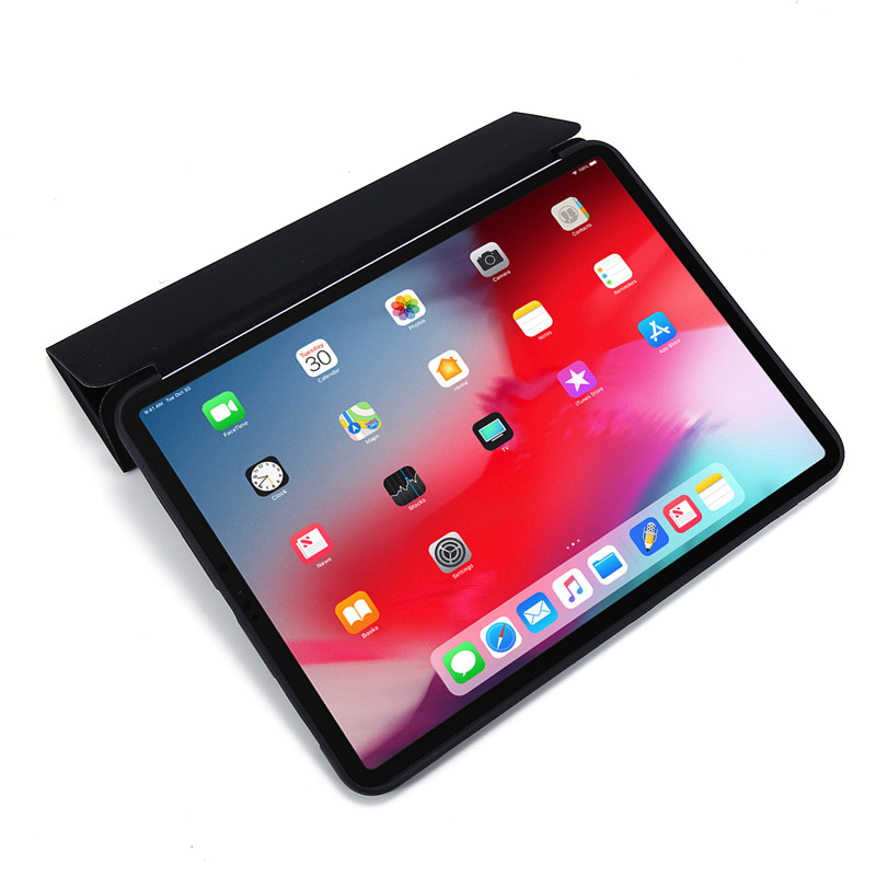 Case For Silicone Tri-fold Soft Cover Smart 11Pro Case PU Case For iPad 2020 Leather