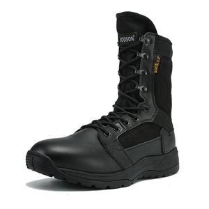 Image 3 - IODSON 야외 군사 전술 부츠 남자의 통기성 사막 전투 발목 부츠 가을 군사 신발 세 가지 색상