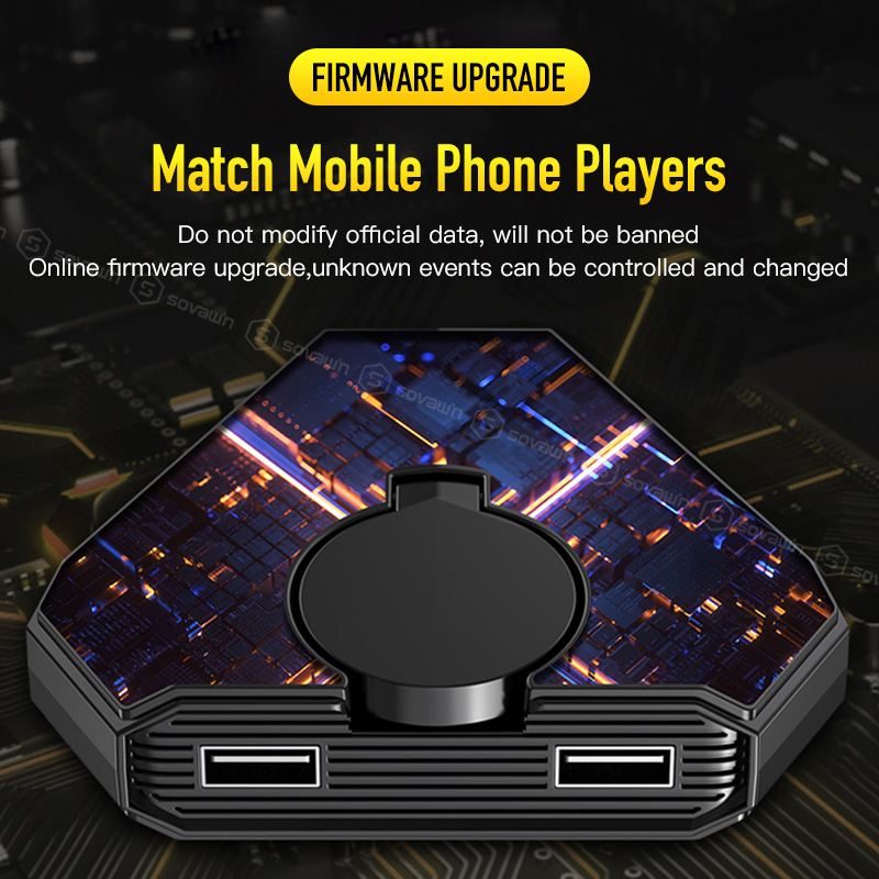 Gamepad Pubg Mobile Bluetooth 5.0 Android PUBG Controller Mobile Controller Gaming Keyboard Mouse Converter For IOS iPad to PC 3