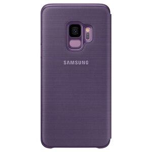 Image 5 - Chính Hãng SAMSUNG Bao Da LED Flip Cover Bao Da LED View Cover Etui Dành Cho Samsung Galaxy SAMSUNG Galaxy S9 G9600 S9 + S9 plus S9Plus G9650