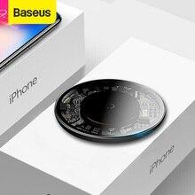 Baseus – chargeur sans fil Qi pour iPhone 12 Pro 10W, charge rapide Visible, coussinet de chargement pour téléphone portable Samsung