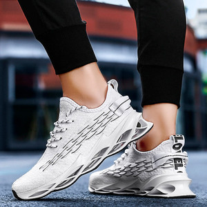 Image 4 - Men Mesh Casual Shoes Lace Up New 2019 Men Sneakers Spring Autumn Breathable Fashion Comfortable Male Footwear Running Shoes