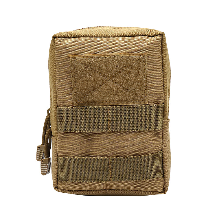 Portable Army Fans Tactical Waist Pack Outdoor Sports Waterproof Phone Bag Multi-functional Camouflage Storage Pannier Bag