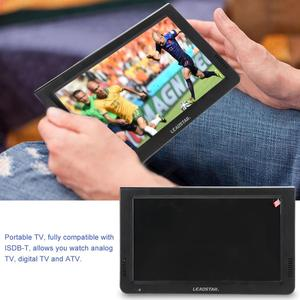 Image 2 - LEADSTAR 10in 스크린 DVB T2 16:9 1080P 자동차 디지털 TV 스테레오 주변 휴대용 TV