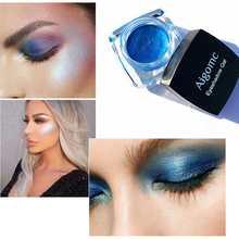 AIGOMC Face Highlighter Jelly Gel Mermaid Eyeshadow Glow Body Glitter Festival Makeup Gold Liquid HighlighterRed Bronzer Eye Sha