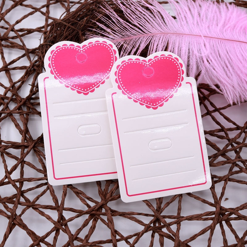 Jewelry Paper Cardboard Hair Clip Hair Claws Blank Card 50pcs Per Lot  Jewelry Packaging