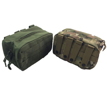 купить Tactical molle Pouch Waterproof Airsoft Nylon Waist EDC Bag Military Multicam Hunting Bag Large Tool Zipper Pack Case Accessory по цене 203.86 рублей