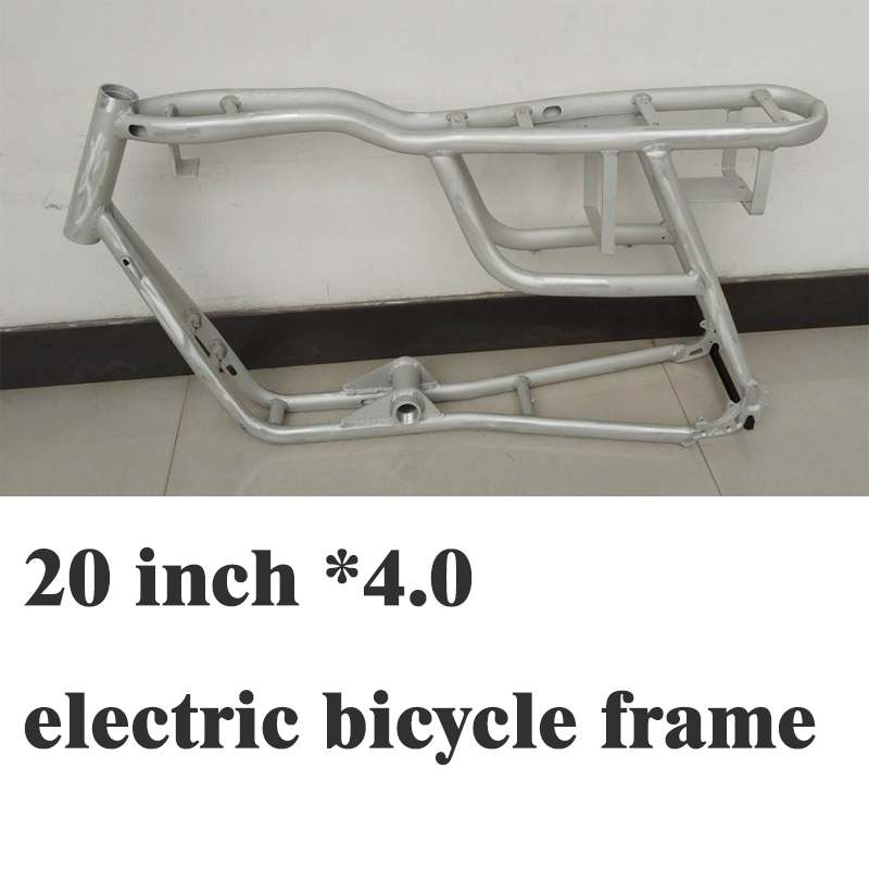 20inch * 4.0 Electric Bicycle Frame 4.0 Fat Tire Bicycle Frame Aluminum Alloy Frame Bicycle Accessories