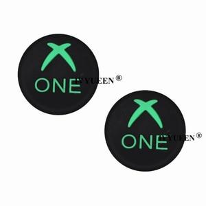 Image 5 - IVYUEEN 2 шт., для Sony Dualshock PlayStation 4, PS4 Pro, тонкий контроллер, силиконовые аналоговые ручки для большого пальца, крышка для X Box One X/S
