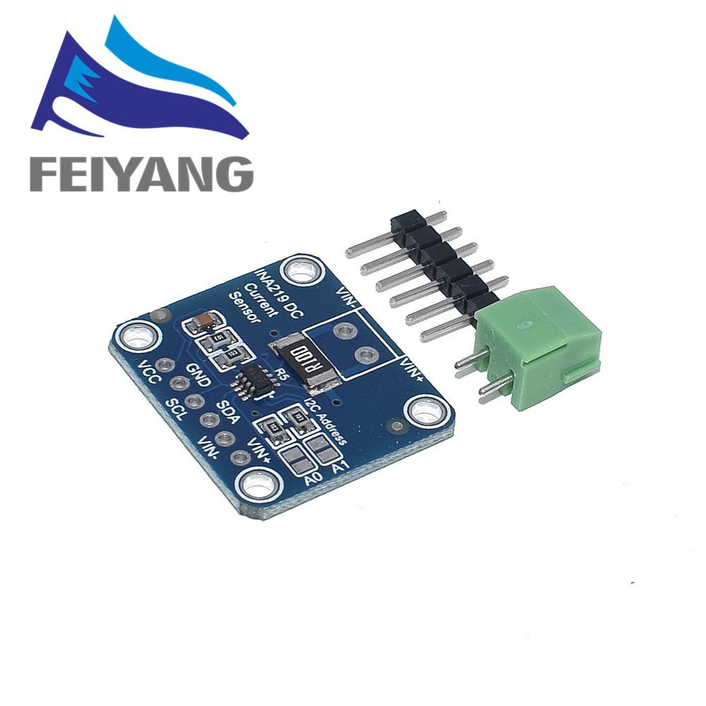 Image 5 - 10PCS INA219 GY 219 Current Power Supply Sensor Breakout Board Module Sensor Module I2C interface High Side DC Current DIY kitIntegrated Circuits   -