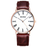 2019 New Men's Business Watch Leather Strap Fashion Simple Multi function Waterproof Quartz Men's Watch Relogio Masculino|Quartz Watches|   -