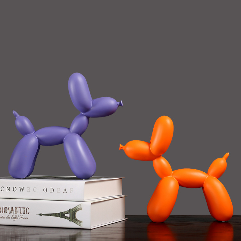 Balloon Dog Statue For Home Decor Nordic Modern Resin Animal Figurine Sculpture Home Decoration Accessories Just6F