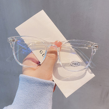 -1.0-1.5-2.0-2.5-3.0 to-6.0 Transparent Finished Myopia Glasses Men Women Black Eyeglasses Prescription Shortsighted Eyewear