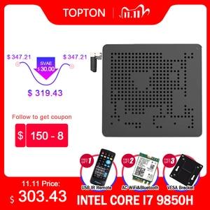 2020 New Intel Mini PC Core i5 i7 i9 9880H 2 Intel Lans Windows 10 2*DDR4 64GB 2*M.2 PCIE Micro PC Mini Computer 4K HTPC DP HDMI