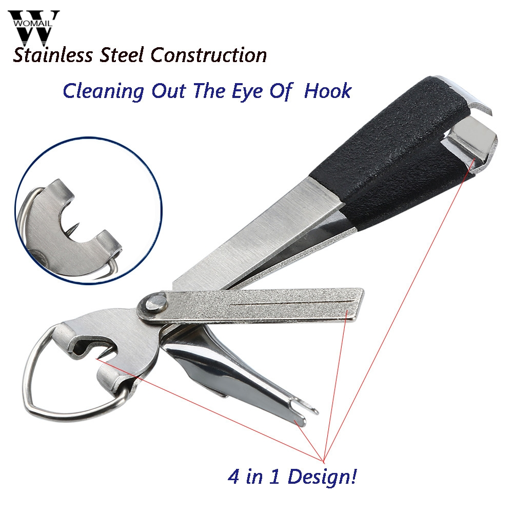 1 Pcs 4 In 1 Quick Knot Cutter Nippers Snip Tying Tool Nail Clippers Line 2019 nuevo corte atar herramienta Clippers 3.19(China)