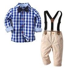 Suit Wedding-Dress Infant Costume Baby Boy Formal Boys Children Gentleman Kid Autumn