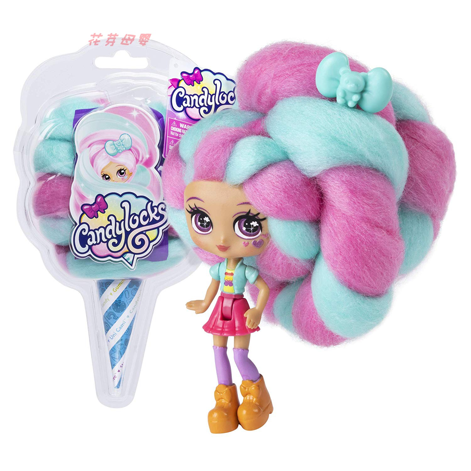 Reissue Candylocks Sweet Treat Toys Hobbies Dolls Accessories Marshmallow Hair 30cm Surprise Hairstyle With Scented Doll