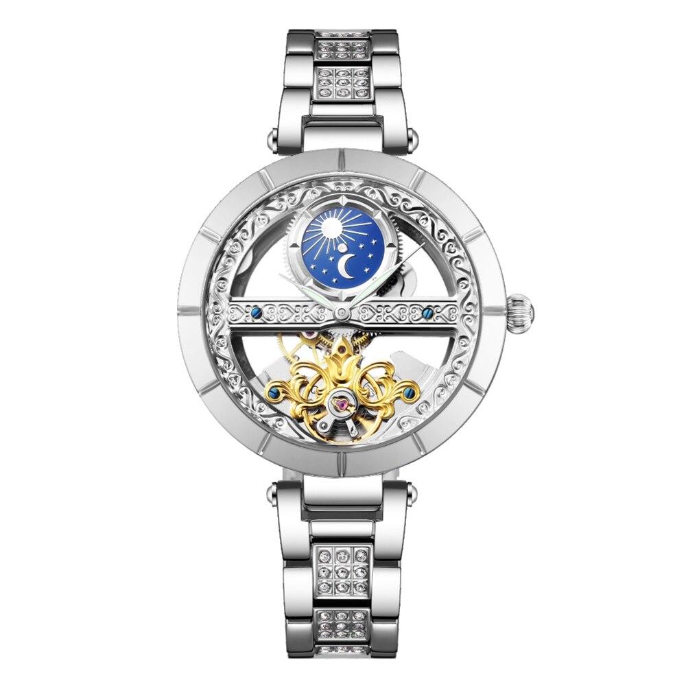 Часы SENORS для женщин полностью автоматические женские часы Прямая продажа от производителя элегантные и модные женские часы SN148|Женские часы|   | АлиЭкспресс