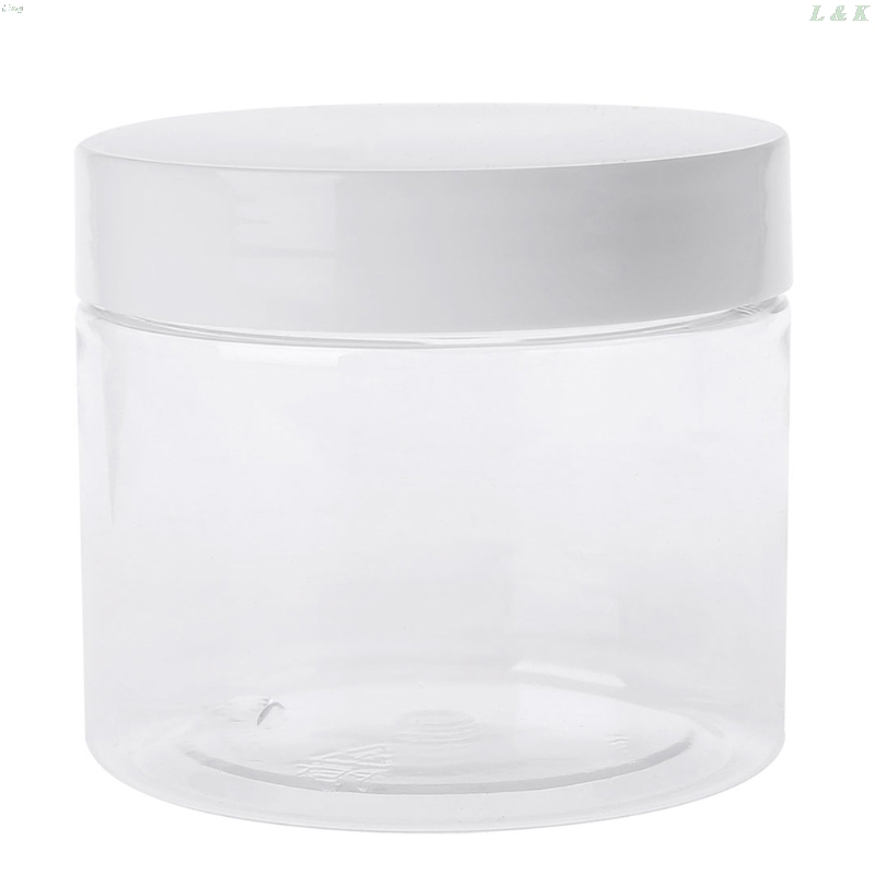 150ml Empty Container For Slime Light Clay Makeup Jar Cosmetic Pot Cream Bottle Nail Box L29K